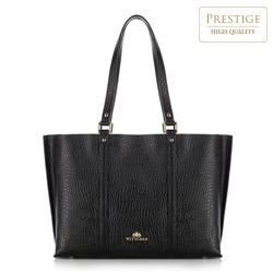 Nákupní taška, černá, 89-4E-421-1, Obrázek 1