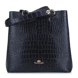 Dámská kabelka, černá, 93-4E-632-1, Obrázek 1