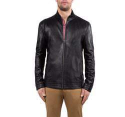 Pánská bunda, černá, 80-09-957-1-L, Obrázek 1