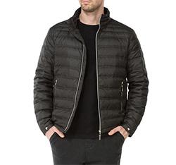 Pánská bunda, černá, 83-9D-352-1-S, Obrázek 1