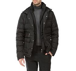 Pánská bunda, černá, 83-9D-354-1-S, Obrázek 1