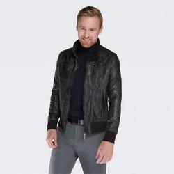 Pánská bunda, černá, 87-9P-150-1-M, Obrázek 1