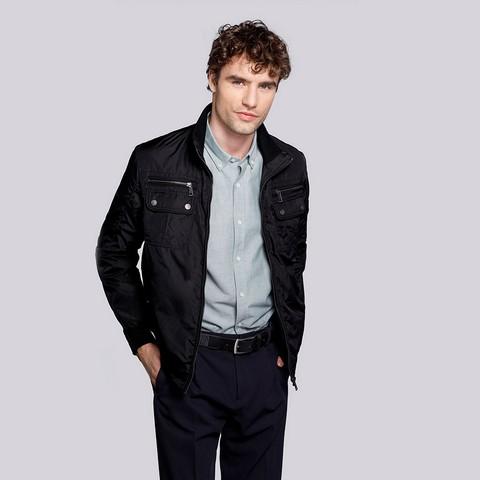 Panská bunda, černá, 92-9N-451-7-L, Obrázek 1