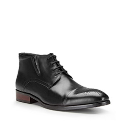 Pánské boty, černá, 87-M-823-1-44, Obrázek 1