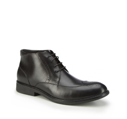 Panské boty, černá, 87-M-944-1-42, Obrázek 1