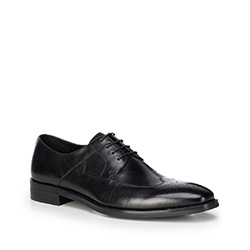 Pánské boty, černá, 88-M-810-1-45, Obrázek 1