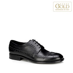 Pánské boty, černá, BM-B-585-1-39, Obrázek 1