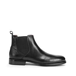Panské boty, černá, 93-M-520-1-43, Obrázek 1