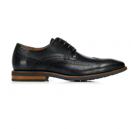 Panské boty, tmavě tmavě modrá, 92-M-550-7-41, Obrázek 1