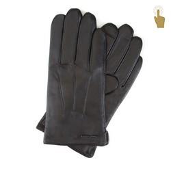 Pánské rukavice, černá, 39-6L-908-1-M, Obrázek 1