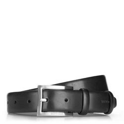 Pánský opasek, černá, 70-8M-001-1-12, Obrázek 1