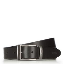 Pánský opasek, černá, 70-8M-004-1-90, Obrázek 1