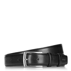 Pánský opasek, černá, 89-8-001-1-12, Obrázek 1