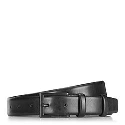 Pánský opasek, černá, 89-8-003-1-11, Obrázek 1