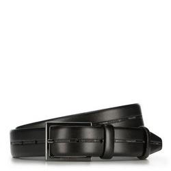 Pánský opasek, černá, 89-8M-309-1-90, Obrázek 1
