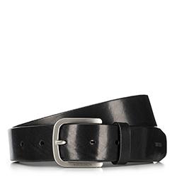 Pánský opasek, černá, 90-8M-302-1-11, Obrázek 1