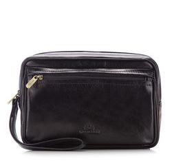 Příruční taška s poutkem, černá, 16-3-003-11, Obrázek 1