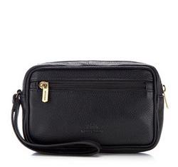 Příruční taška s poutkem, černá, 16-3-006-1, Obrázek 1