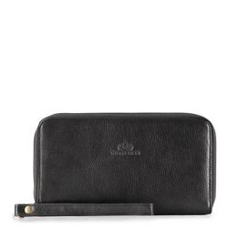 Příruční taška s poutkem, černá, 17-3-120-1, Obrázek 1