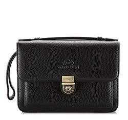 Příruční taška s poutkem, černá, 17-3-735-1, Obrázek 1