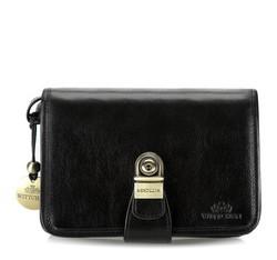 Příruční taška s poutkem, černá, 21-3-039-1, Obrázek 1