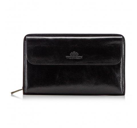Příruční taška s poutkem, černá, 21-3-376-1, Obrázek 1