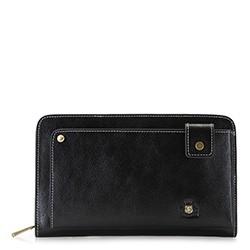 Příruční taška s poutkem, černá, 22-3-377-1, Obrázek 1