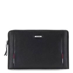Příruční taška s poutkem, černá, 86-3U-216-1, Obrázek 1