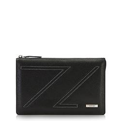 Příruční taška s poutkem, černá, 87-3U-204-1, Obrázek 1