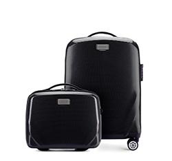 SADA (kabinový kufr + kosmetický kufřík), černá, 56-3P-571_4-10, Obrázek 1