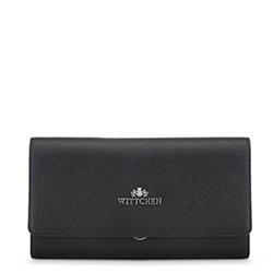 Kožená dámská kabelka, černá, 91-4E-616-1, Obrázek 1