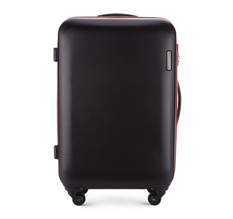 Střední cestovní kufr, černá, 56-3-612-30, Obrázek 1