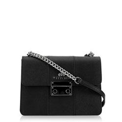 Dámská kabelka, černá, 89-4E-411-1, Obrázek 1