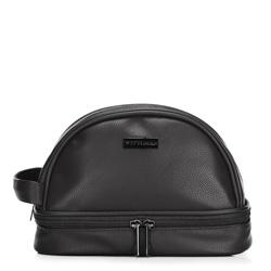 Toaletní taška, černá, 89-3P-200-1, Obrázek 1