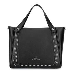 Dámská kabelka, černá, 92-4E-611-1, Obrázek 1