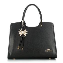 dámská kabelka, černá, 88-4E-369-1, Obrázek 1