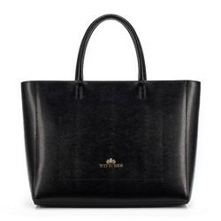 Tote bag, černá, 89-4-309-1, Obrázek 1