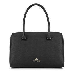 Tote bag, černá, 89-4-411-1, Obrázek 1
