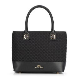 Tote bag, černá, 89-4-612-1, Obrázek 1