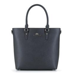 Tote bag, černá, 89-4-707-1, Obrázek 1