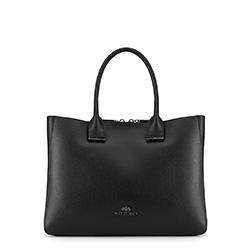 Tote bag, černá, 89-4E-408-1, Obrázek 1