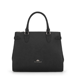 Dámská kabelka, černá, 89-4E-410-1, Obrázek 1