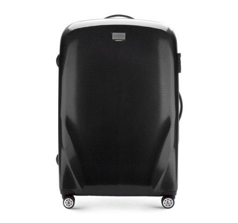 Velký cestovní kufr, černá, 56-3P-573-90, Obrázek 1