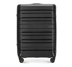 Velký cestovní kufr, černá, 56-3T-753-10, Obrázek 1