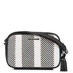 Dámská kabelka, černo-béžová, 90-4Y-408-X2, Obrázek 1
