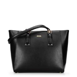 Dámská kabelka, černo-béžová, 92-4Y-610-10, Obrázek 1