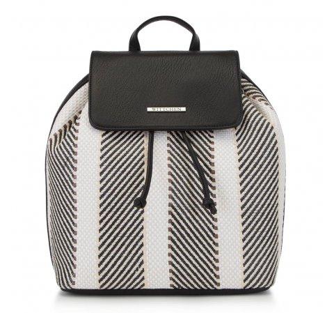 Dámský batoh, černo-béžová, 90-4Y-406-X2, Obrázek 1