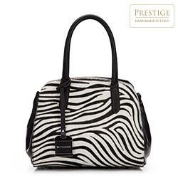dámská kabelka, černo-bílá, 87-4E-020-X2, Obrázek 1