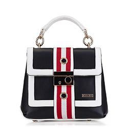 Dámská kabelka, černo-bílá, 88-4Y-604-1, Obrázek 1