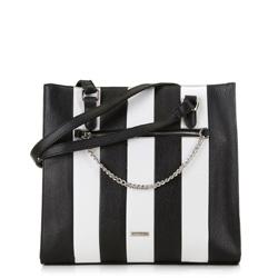 Dámská kabelka, černo-bílá, 89-4Y-566-01, Obrázek 1